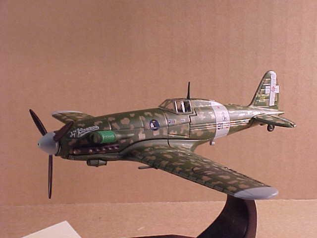 Oxford 1/72 Diecast Macchi C.202. Series III Folgore Ace, el Alamein 1942 #AC017