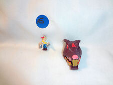 Mighty Max Shrunken Heads Rat Trap 100% Complete Set Playset Bluebird Toys