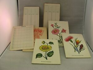 A-Vintage-Lot-of-Canasta-Pads