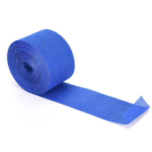 5cm*10m  Natural Jute Burlap Ribbon Fabric Roll Hessian Trims Tape Rustic DSUK