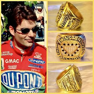 NASCAR-Legend-Jeff-Gordon-1997-Winston-Cup-Championship-Ring-Size-11