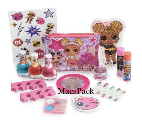 LOL Surprise Dolls Gift Beauty Set Bundle Nail Polish and Lip Gloss