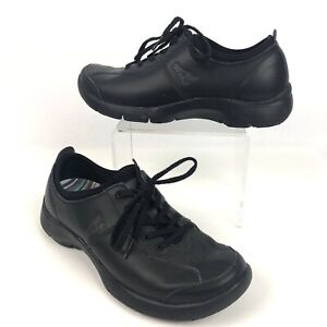 Dansko-39-Comfort-Shoes-Walking-Lace-Up-Black-Non-Slip