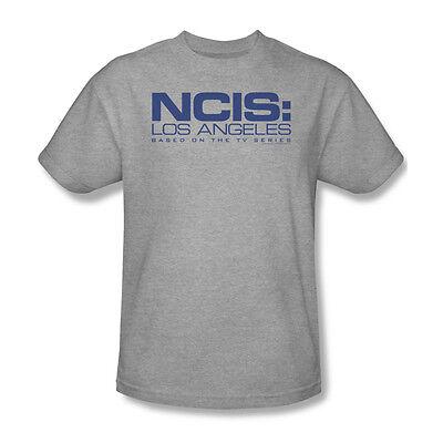 NCIS Los Angeles T shirt in base alla TV Show 100% COTONE GRIGIO TEE CBS708   eBay