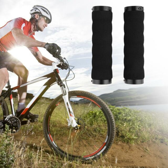 1Pair Bicycle Handle Handlebar Grips TPR Rubber For Twisting Shifter Bike Parts
