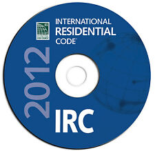 2012 International Residential Code IBC-Public Safety Regulations-CD eBook PDF