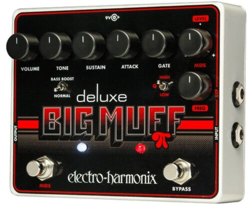 Distortion Sustainer Guitar Pedal EHX Electro Harmonix Deluxe Big Muff Pi
