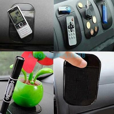 Sticky Mat Anti Slip Pad Car Dash For Mobile Cell Phone GPS Radar Detector New A