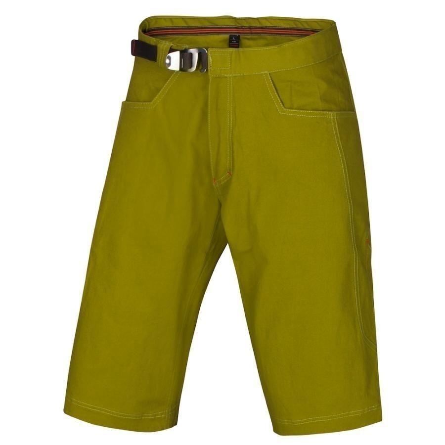 Ocun Honk Men's Shorts, Sturdy Boulder Climbing Shorts for Men, Green, SIZE S