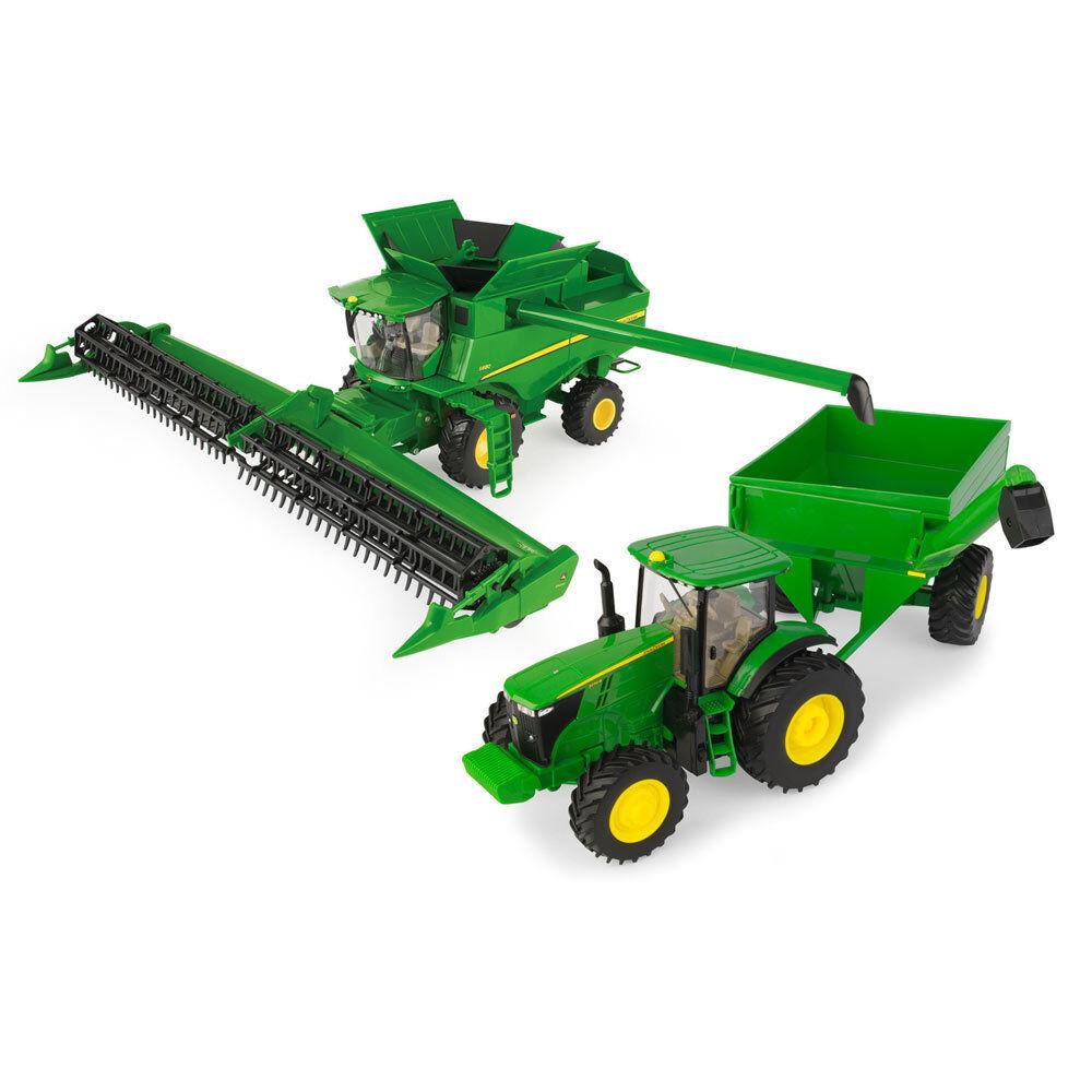 ERTL John Deere 1 32 Scale  Harvesting Set  marque
