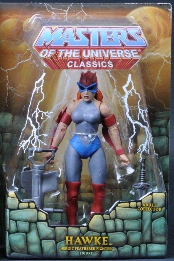 MOTU,MOTUC,HAWKE,SUPER 7,MASTERS OF UNIVERSE,CLASSICS,HE-MAN,Sealed,MOSC moc