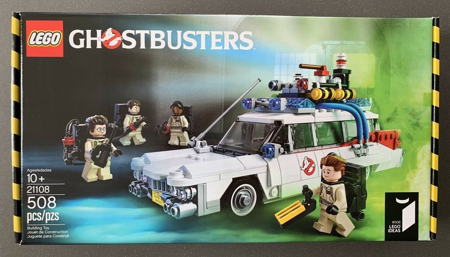 LEGO Ghostbusters Ecto-1  21108  Nuovo Factory Sealed Retirosso