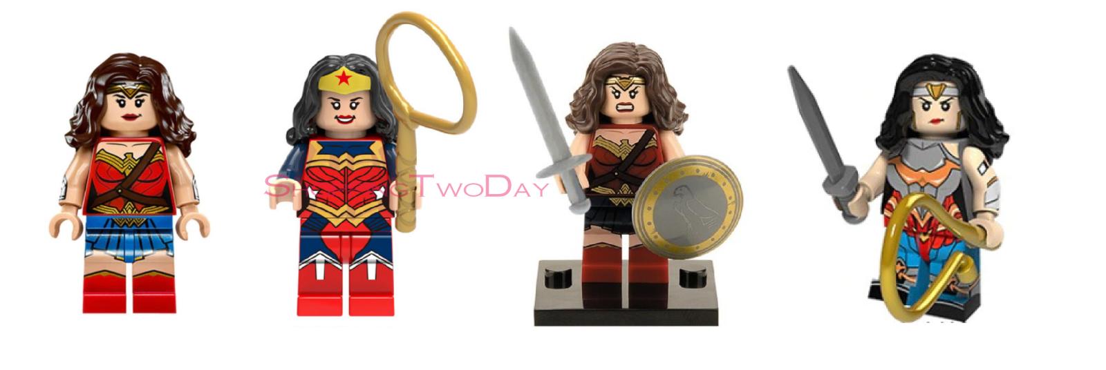 WONDER WOMAN DC LEGO MOC CUSTOM MINIFIGURE TOYS COLLECTION GIFT