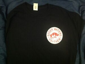 Rare-Rodger-Waters-Us-amp-Them-Local-Crew-Shirt-Size-XL-Preowned