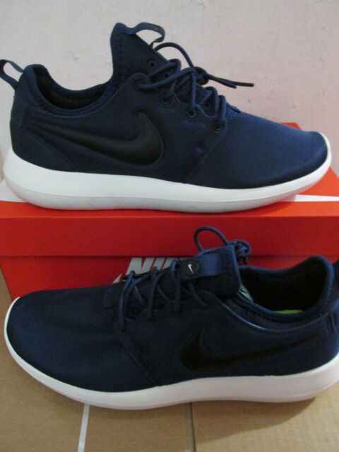 official photos 8f178 d85f4 Nike Roshe Two 2 Navy White Rosherun Mens Running Shoes SNEAKERS 844656-400  10.5