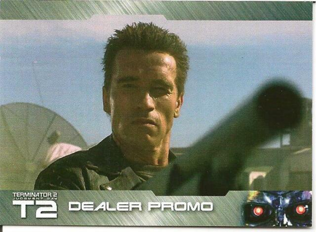 TERMINATOR 2 EXCLUSIVE DEALER PROMOS SET UNSTOPPABLE CARDS ARNOLD SCHWARZENEGGER