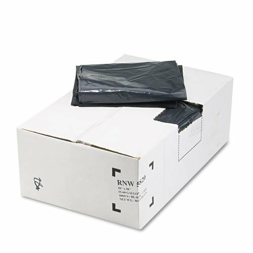Webster Reclaim Heavy-duty Recyled Can Liners - 60 Gal - 58