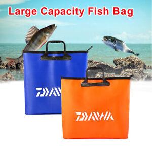 Large-Waterproof-EVA-Fishing-Bag-Zip-Accessory-Deluxe-Net-Bag-Outdoor-Handbag-UK