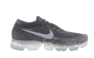 look out for for whole family retail prices Details about NIKE AIR VAPORMAX FLYKNIT DARK GREY PURE PLATINUM UNISEX  TRAINERS SIZE UK 8.5.