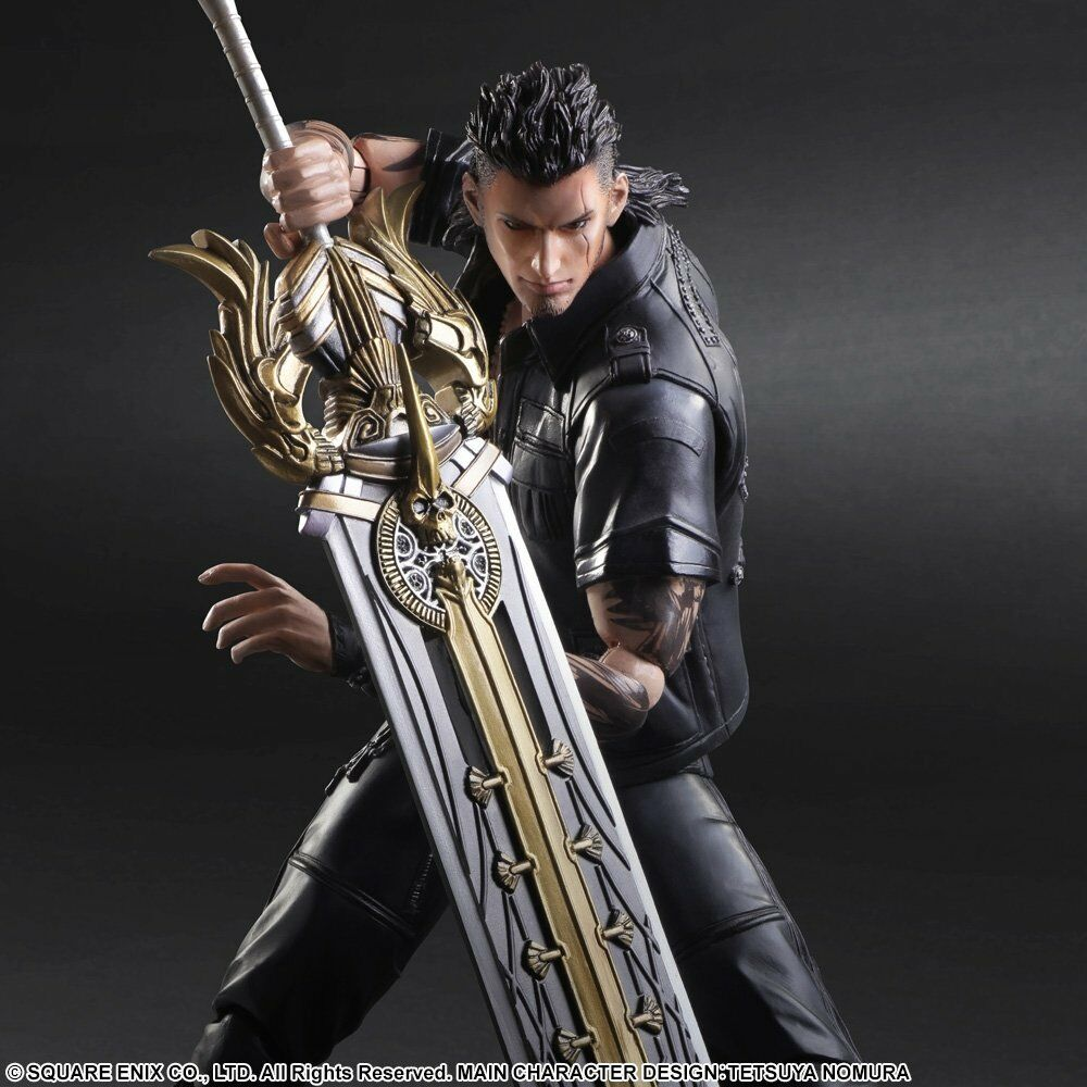 FINAL FANTASY XV PLAY ARTS KAI GLADIOLUS New
