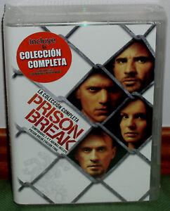 PRISON BREAK 1-4 TEMPORADAS SERIE COMPLETA 23 DVD NUEVO DRAMA (SIN ABRIR) R2