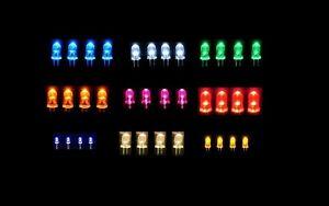 4-PACK-5-0mm-LED-LIGHTING-MODEL-RAILWAY-BUILDING-SCENERY-12V-10-colours-00-gauge