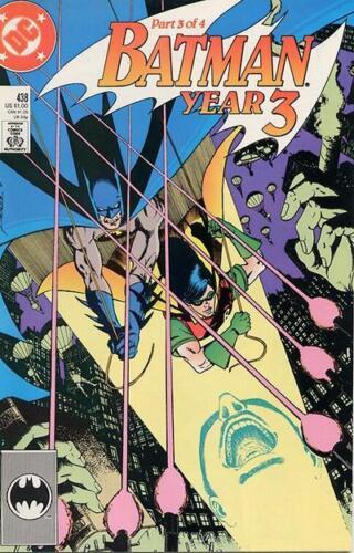 Year Three Part 3 NM Batman #438 Early September 1989