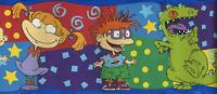 Childs Rugrats Dinosaur Tommy Angelica Chucky Self Stick Wall Wallpaper Border