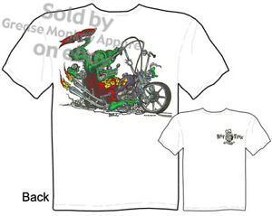 Rat-Fink-Choppers-T-shirt-Big-Daddy-Shirt-Showtime-Ed-Roth-Tee-Sz-M-L-XL-2XL-3XL
