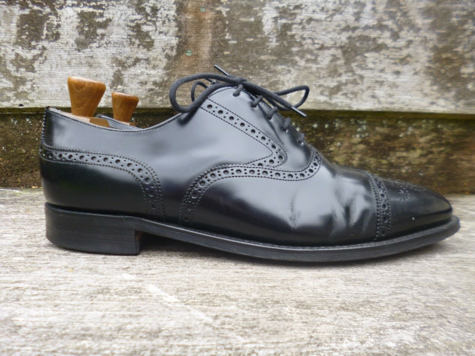 CHEANEY BLACK / CHURCH BROGUES – BLACK CHEANEY – UK 9.5 – EXCELLENT CONDITION 2d6fb3