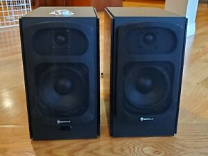"Rockville HD5 5"" Bookshelf Speakers Bluetooth Monitor"