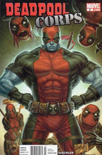 Deadpool Corps  #2  Liefeld Marvel 1st Print  VF
