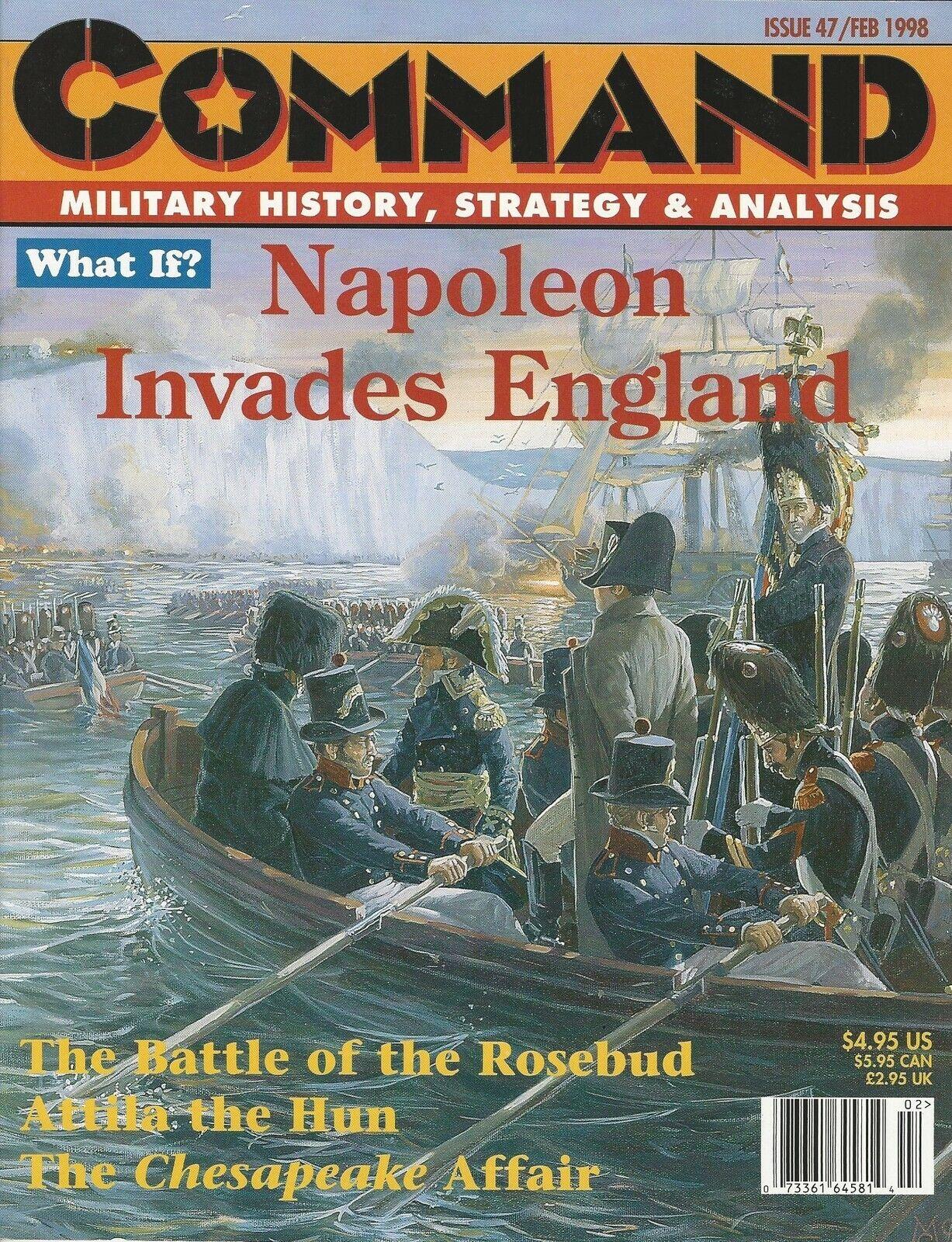 Command Magazine  47  Napoleon Invades Ehgland Attila the Scourge Unpunched FS