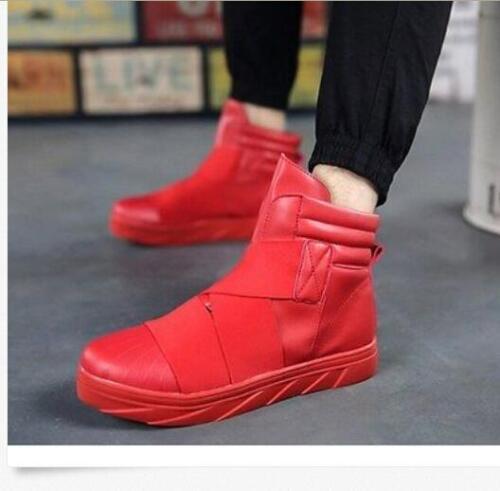 alta Calzado punta gruesas Suela deportivo Botas de de y para tobillo Zapatillas deporte hombre de altas con redonda Tamaño calidad xFT0wFgqv