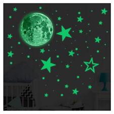 Wandtattoo Wandaufkleber Wandsticker Sterne Mond Kinderzimmer Mädchen W3449