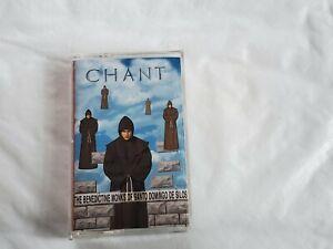 Chant The Benedictine Monks of Santo Domingo de Silos cassette 1994 Angel
