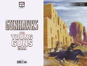 Gunhawks-1-Black-Panther-Variant-Marvel-Comics-Young-Guns-1st-Print-2019-NM