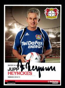 Jupp-Heynckes-Autogrammkarte-Bayer-Leverkusen-2010-11-Original-Signiert