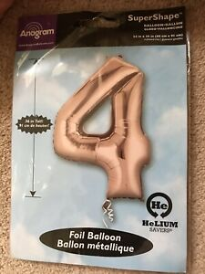 "5 x Large Giant 25"" Barbie  SuperShape Foil Helium Balloon"