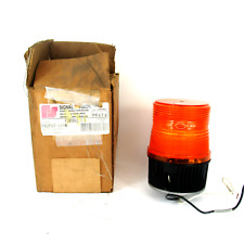 Federal Signal Fb2pst 120a Amber Fireball Ii Strobe Light 120v Ac New