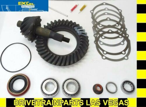 """Richmond Excel Ford 9/"""" 5.29 Ratio Ring and Pinion Gear Set Pinion Install Kit"""
