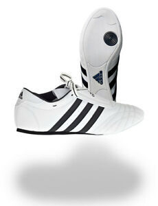 Adidas-SM-II-Sneaker-weiss-Groessen-36-47-1-3-TKD-Schuh-Taekwondo-Fitness