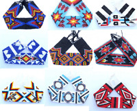 Native American Style Beaded Strip 2 X 20 Inch Handmade P22015