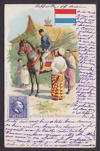 Kunzli-used-PPC-La-Poste-aux-Indes-Neerlandaises-ABBEVILLE-AMTEMS-1902-use
