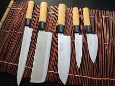 NEU japanische Küchenmesser Kochmesser  5 pics Set Sushi Japan Knife Knives