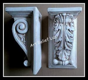 1X Stück Konsolen Stuck gips Griechisch Skulptur Griechischen Bas ...