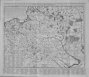 Antique-map-Nouvelle-carte-du-Royaume-de-Pologne