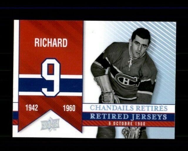 2008-09 Upper Deck Montreal Canadiens Centennial #278 Maurice Richard (ref 97965