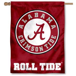 huge selection of 6f313 7b34f Image is loading University-of-Alabama-Roll-Tide-Banner-Flag