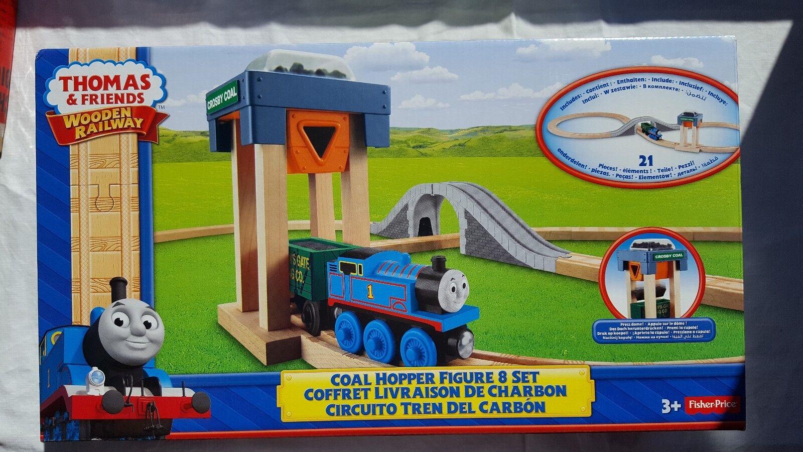Fisher-Price Thomas & seine Freunde  Großes Kohlenstation BahnsetBBD10OVPNEU